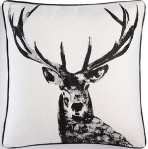 Martha Stewart Collection Stag Head Deco Pillow